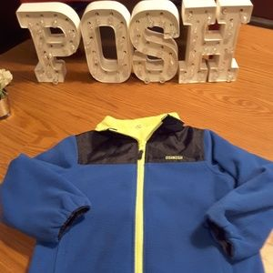 Oshkosh B'gosh reversible fleece lined jacket sz 6